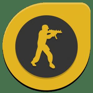 Icono de videojuego en torneos online CSGO
