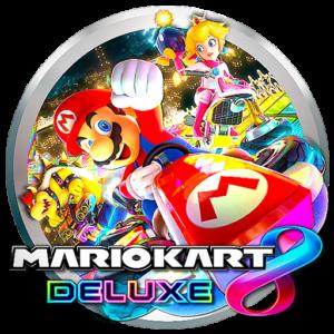 Icono de videojuego en torneos online Mario Kart 8 Deluxe